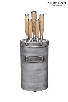 Kitchencraft Industrial Knife Block