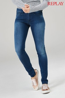 Replay® Mid Wash Luz Jean
