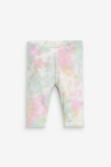 Organic Cotton Blend Cropped Leggings (3mths-7yrs)