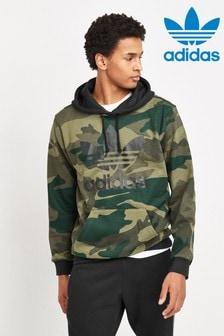 adidas Originals Camo/Black Pullover Hoody