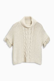 Cable Poncho (3-12yrs)