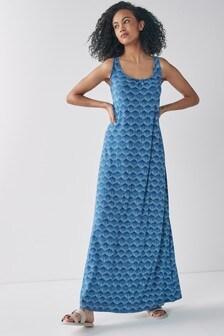 Trapeze Maxi Dress