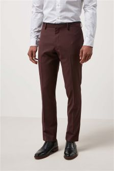 Tipped Collar Suit: Trousers