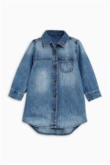 衬衫式裙装 (3个月-6岁)