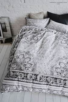 French Connection Goa Duvet Cover and Pillowcase Set