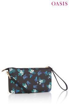 Oasis Green Greenhouse Mini Cross Body Bag