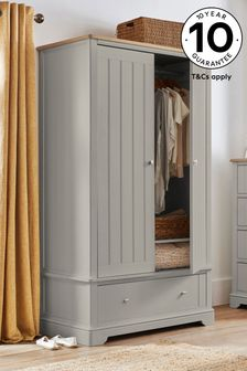 Hampton Country Luxe Double Wardrobe