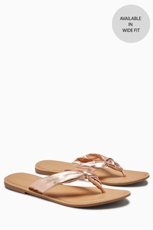 13c9936104ea58 Knot Toe Post Sandals