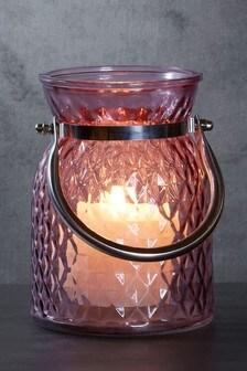 Pressed Glass Lantern