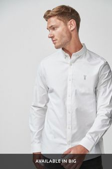 b5900754b Long Sleeve Stretch Oxford Shirt