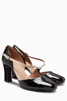 Asymmetric Mary Janes