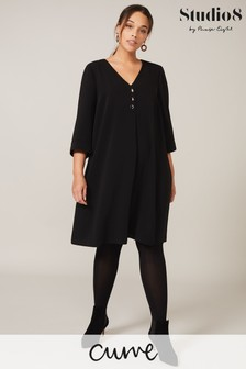 Studio 8 Black Adaline Swing Dress