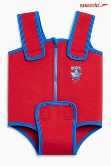 Speedo® Red Neoprene Baby Suit