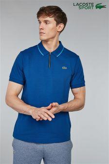 Lacoste® Sport Ribbed Collar Polo