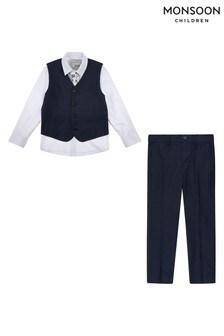 Monsoon Navy Suit Set