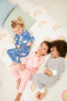 3 Pack Character Snuggle Pyjamas (9mths-8yrs)