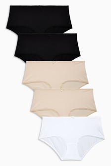 Microfibre Knickers 5 Pack
