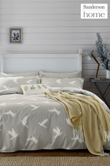Sanderson Home Paper Dove Duvet Cover