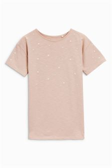 Pearl Oversized T-Shirt (3-16yrs)