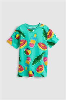 Inflatable All Over Print T-Shirt (3-16yrs)