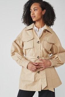 Belted Rain Jacket