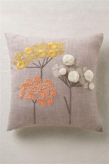 Pasture Pom Cushion