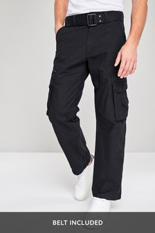 dffb2b00cab8a Cargo Trousers for Men | Belted Cargo Pants | Next Ireland