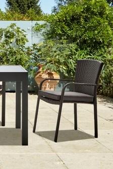 Grey Monaco Garden Chair