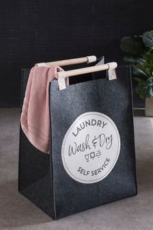Vintage Sign Laundry Bag