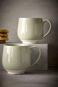 Set of 2 Speckle Mugs