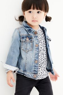 58351814 Younger Girls Coats & Jackets | Leather Coats & Jackets | Next