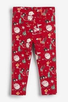 Christmas Print Leggings (3mths-7yrs)