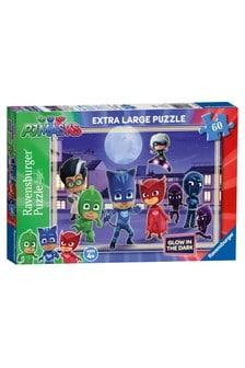 Ravensburger PJ Masks, XXL 60 Piece Glow in the Dark Jigsaw Puzzle