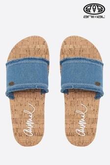 Animal Denim Blue Royal Sandal
