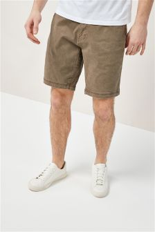 Laundered Chino Shorts