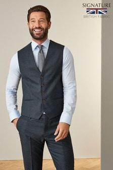Signature Puppytooth Slim Fit Suit