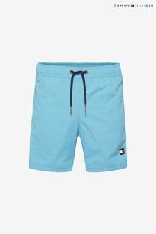 Tommy Hilfiger Boys blauwe zwemshort