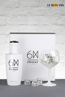 Le Bon Vin Friday Chic Gin Gift Set