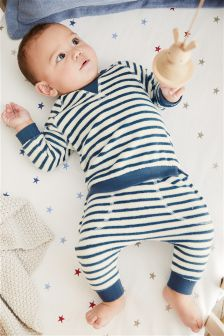 Stripe Sweater And Joggers Set (0mths-2yrs)