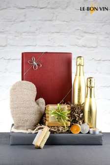 Bubbles And Scrub Prosecco Gift Box From Le Bon Vin