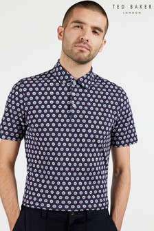 Ted Baker Edaname Small Floral Printed Polo
