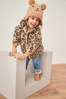Fleece Slouchy Jacket (12mths-7yrs)