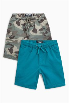 Pull-On Shorts Two Pack (3mths-6yrs)