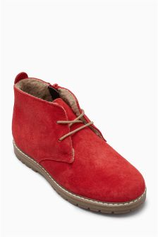 Water Resistant Suede Boots (Younger)