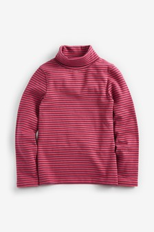 Roll Neck Long Sleeve Top (3-16yrs)