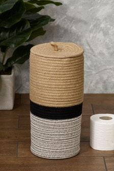 Плетеный контейнер для туалетной бумаги