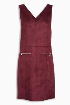 Suedette Pinny Dress