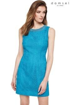 Damsel In A Dress Blue Marea Lace Dress