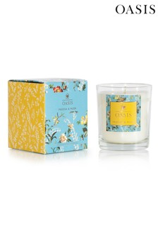 Oasis Freesia Musk Candle