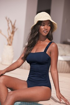 Ruched Strap Swimsuit